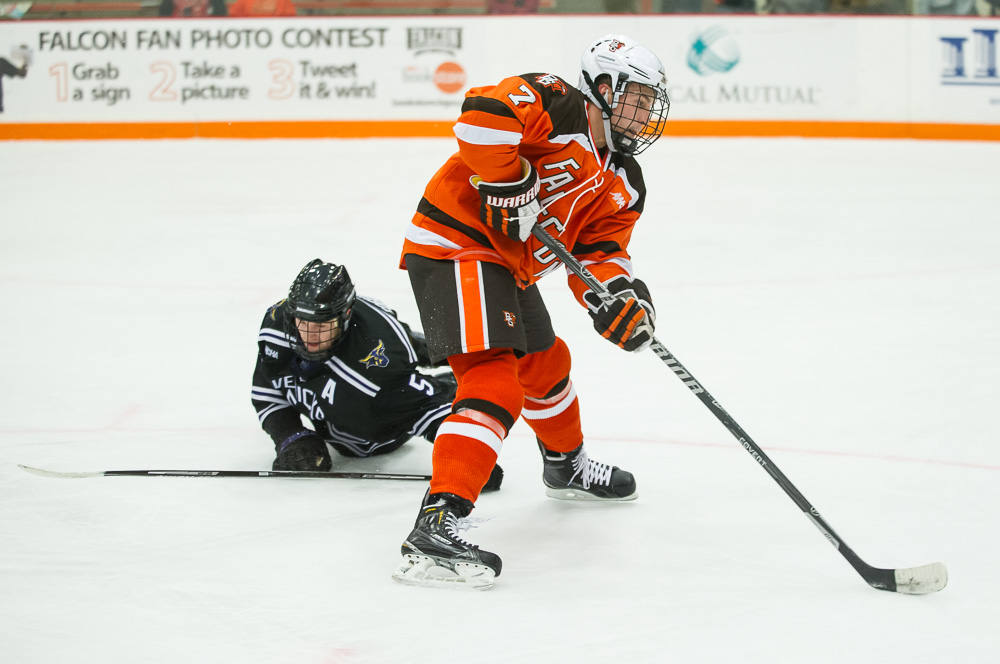 Spezia honored by WCHA