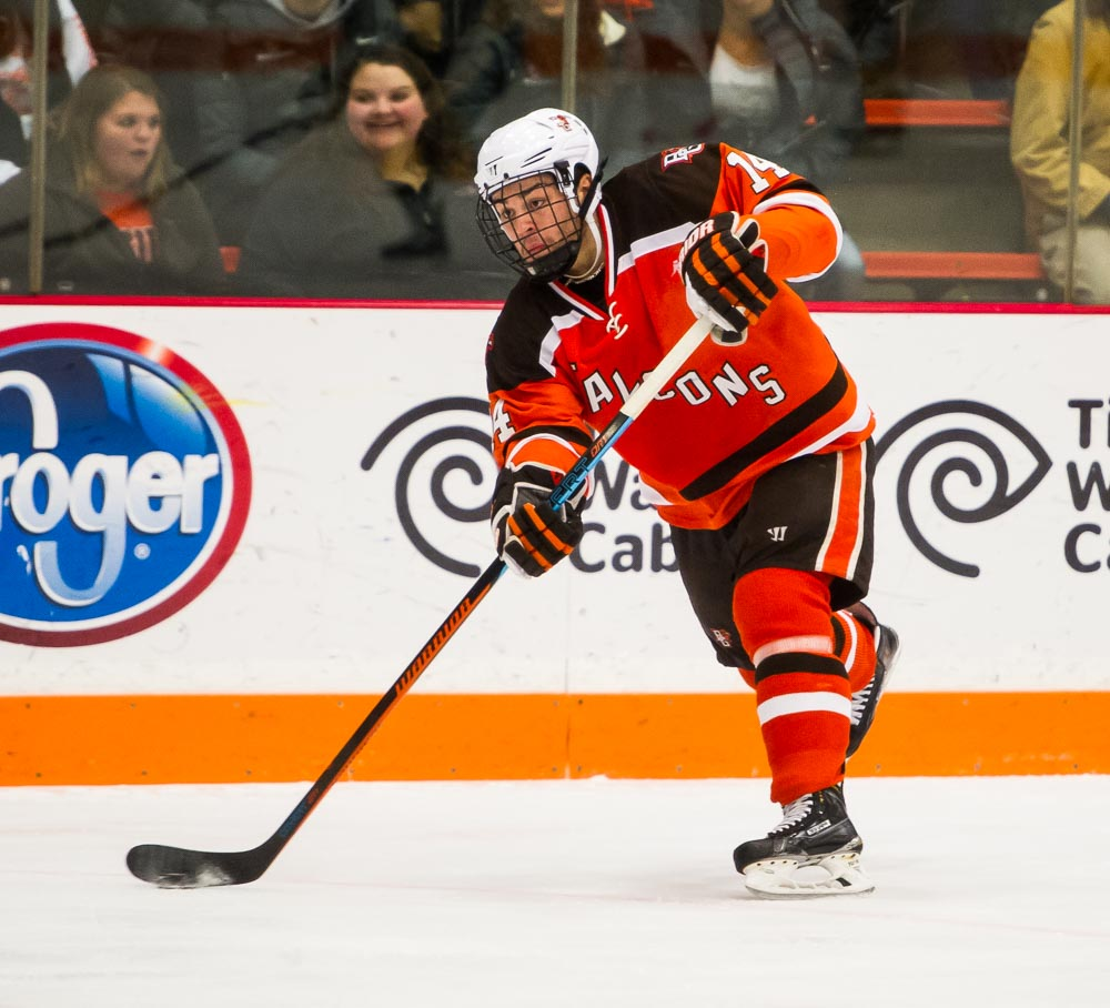 Friedman named WCHA defensive player of the week