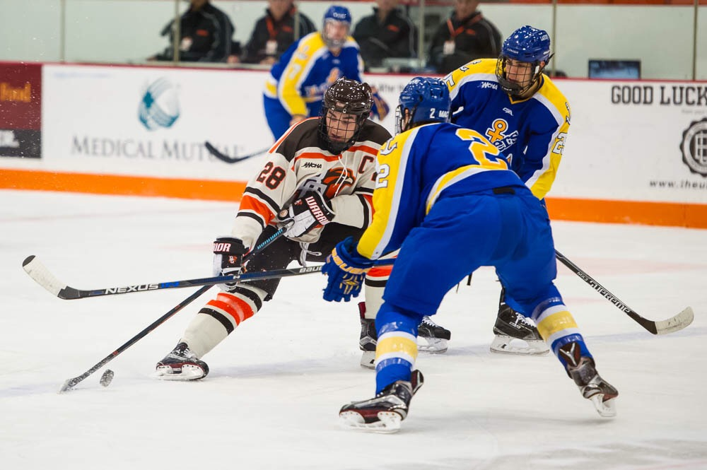Breaking: Falcon hockey reportedly adds defenseman from club squad