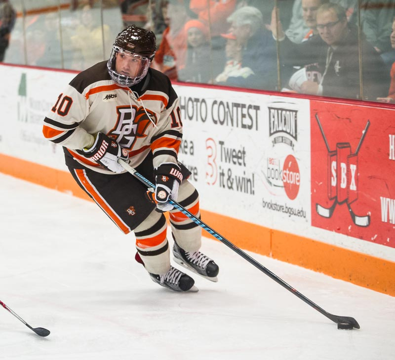Falcons fall out of USCHO Top 20