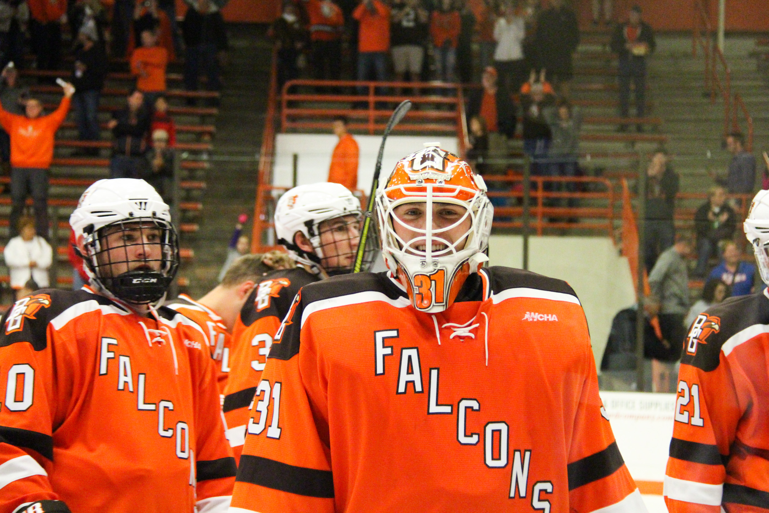 Rivalry renewed: Falcons handle Spartans 4-1